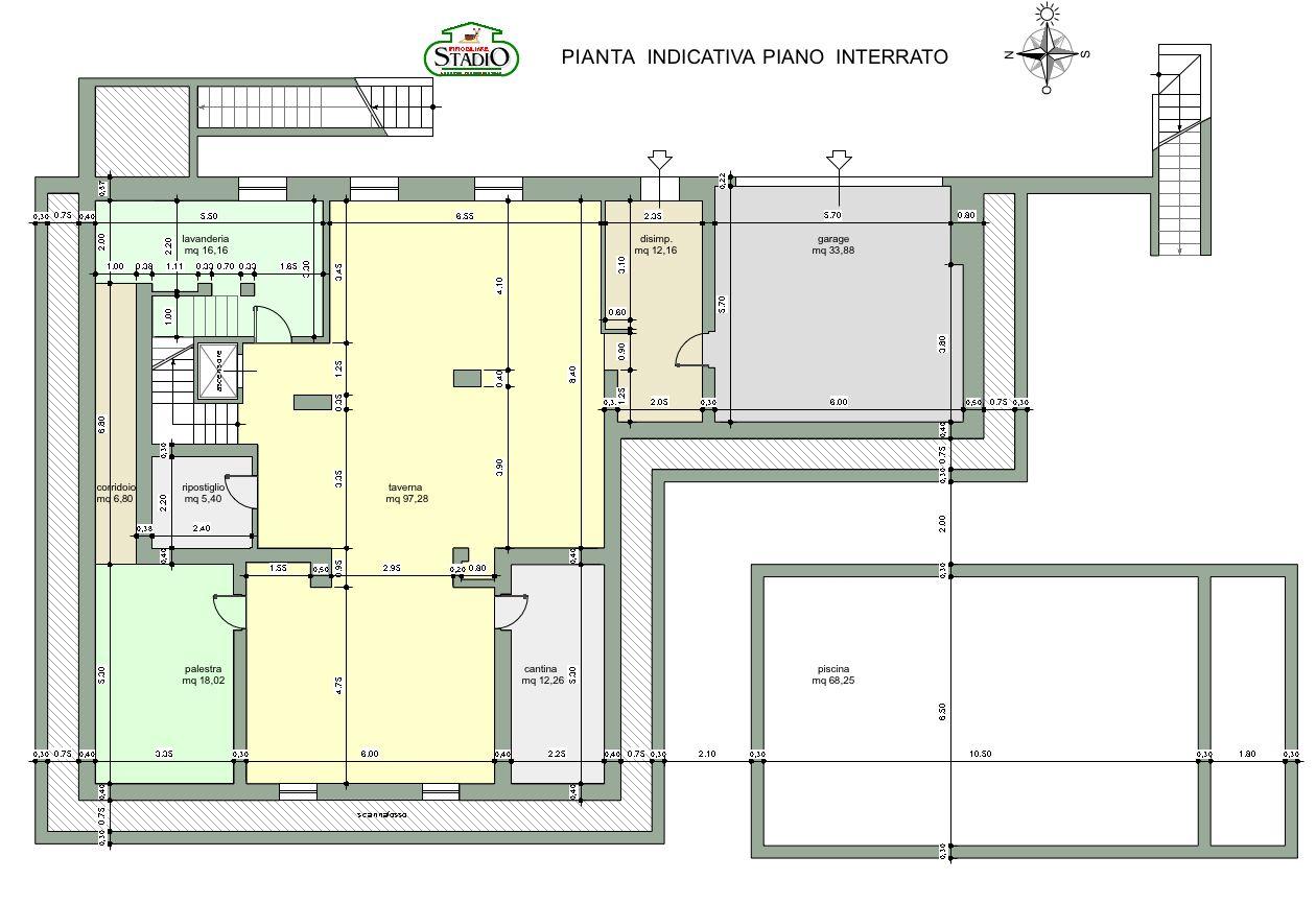 Planimetria 4/4 per rif. C058