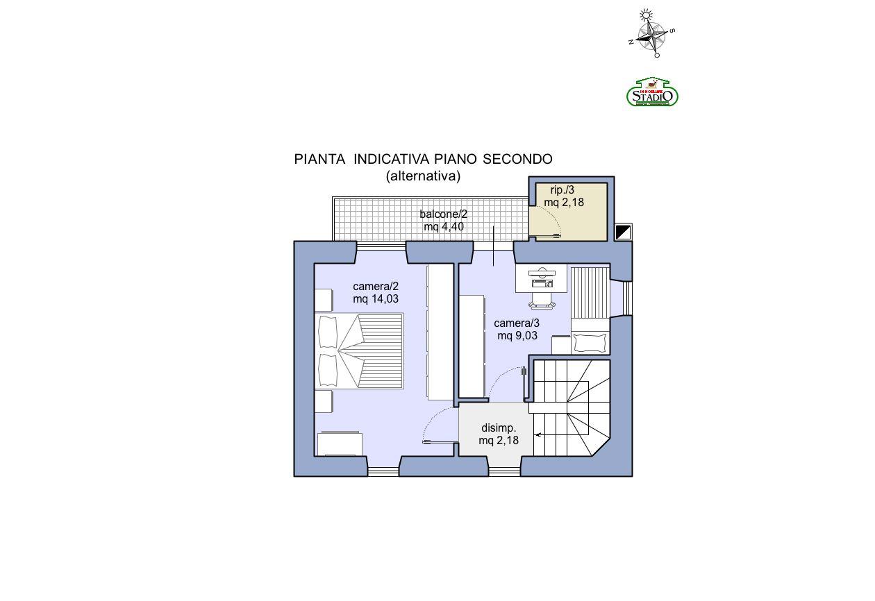 Planimetria 4/4 per rif. C121