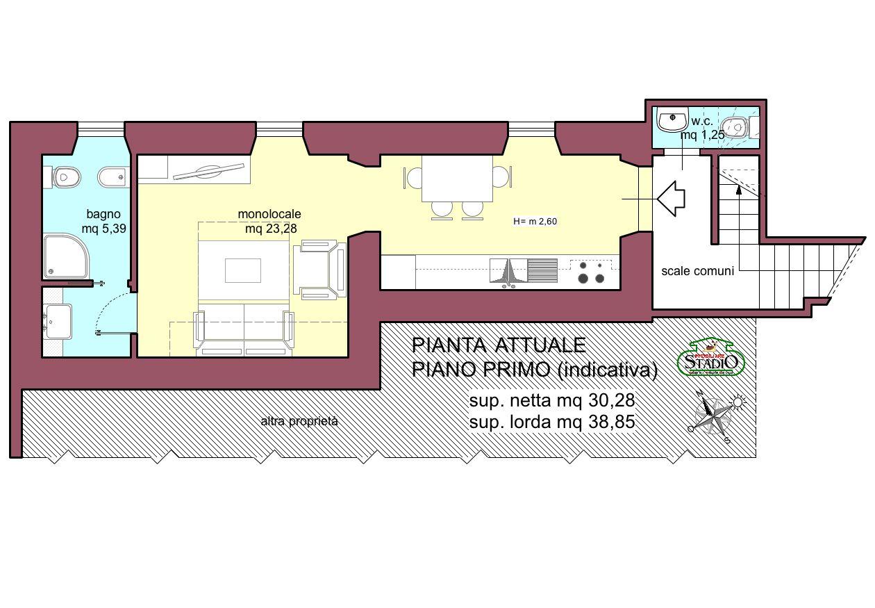 Progetto Appartamento 85 Mq immobiliare stadio | appartamento in vendita a fossola
