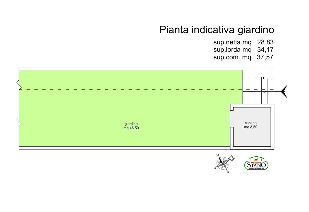 Planimetria 2/2 per rif. C122