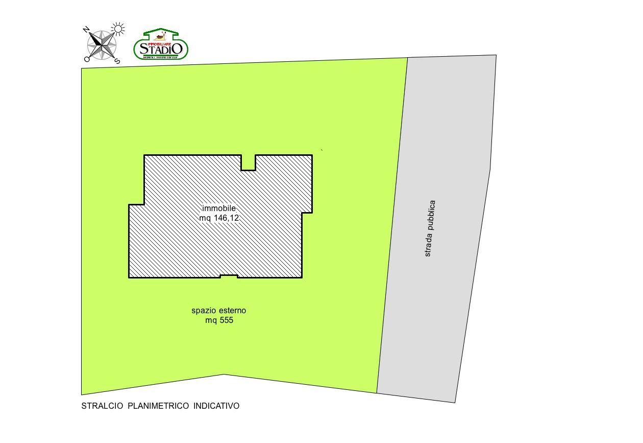 Planimetria 2/2 per rif. AF101