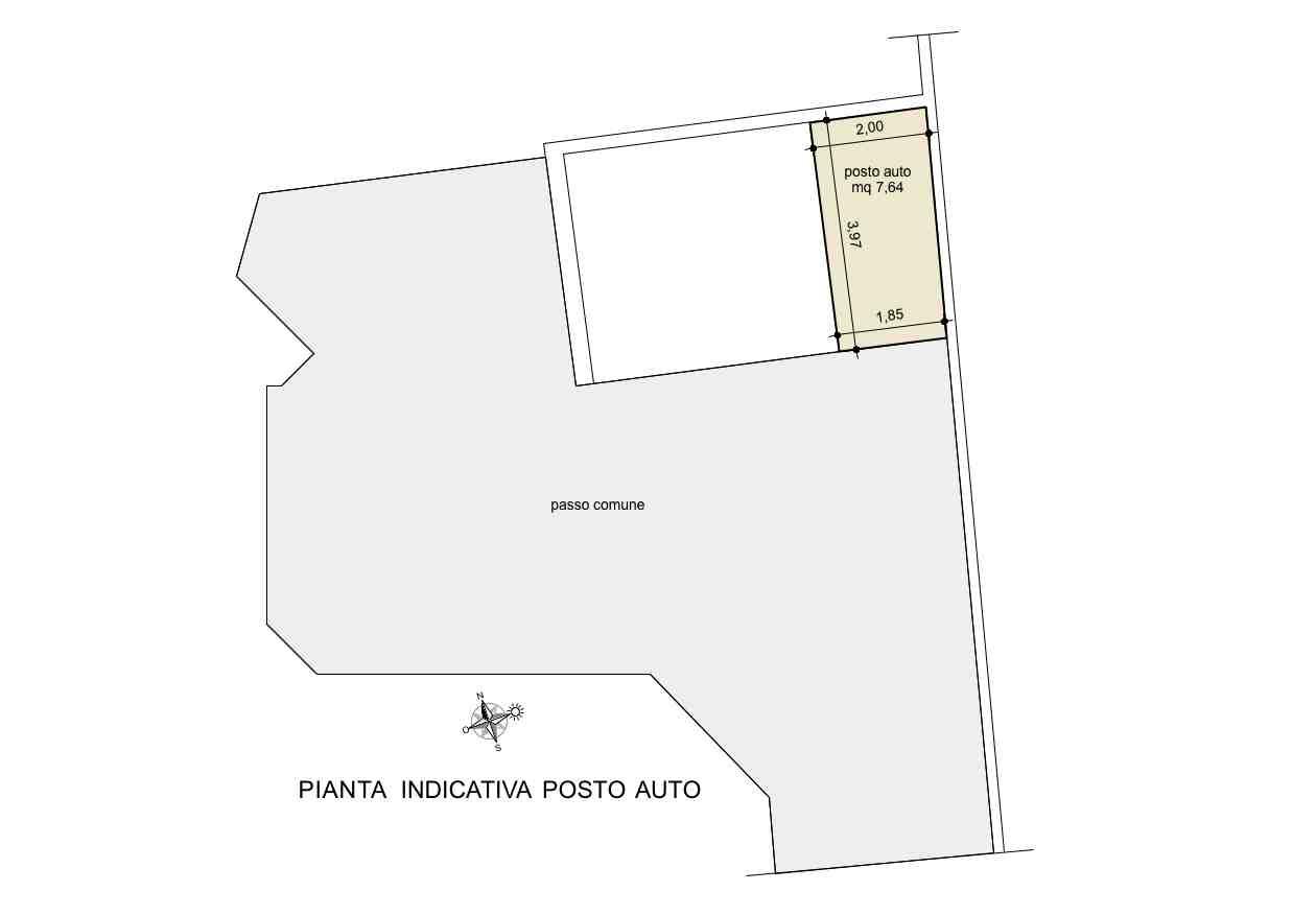 Planimetria 4/4 per rif. A181