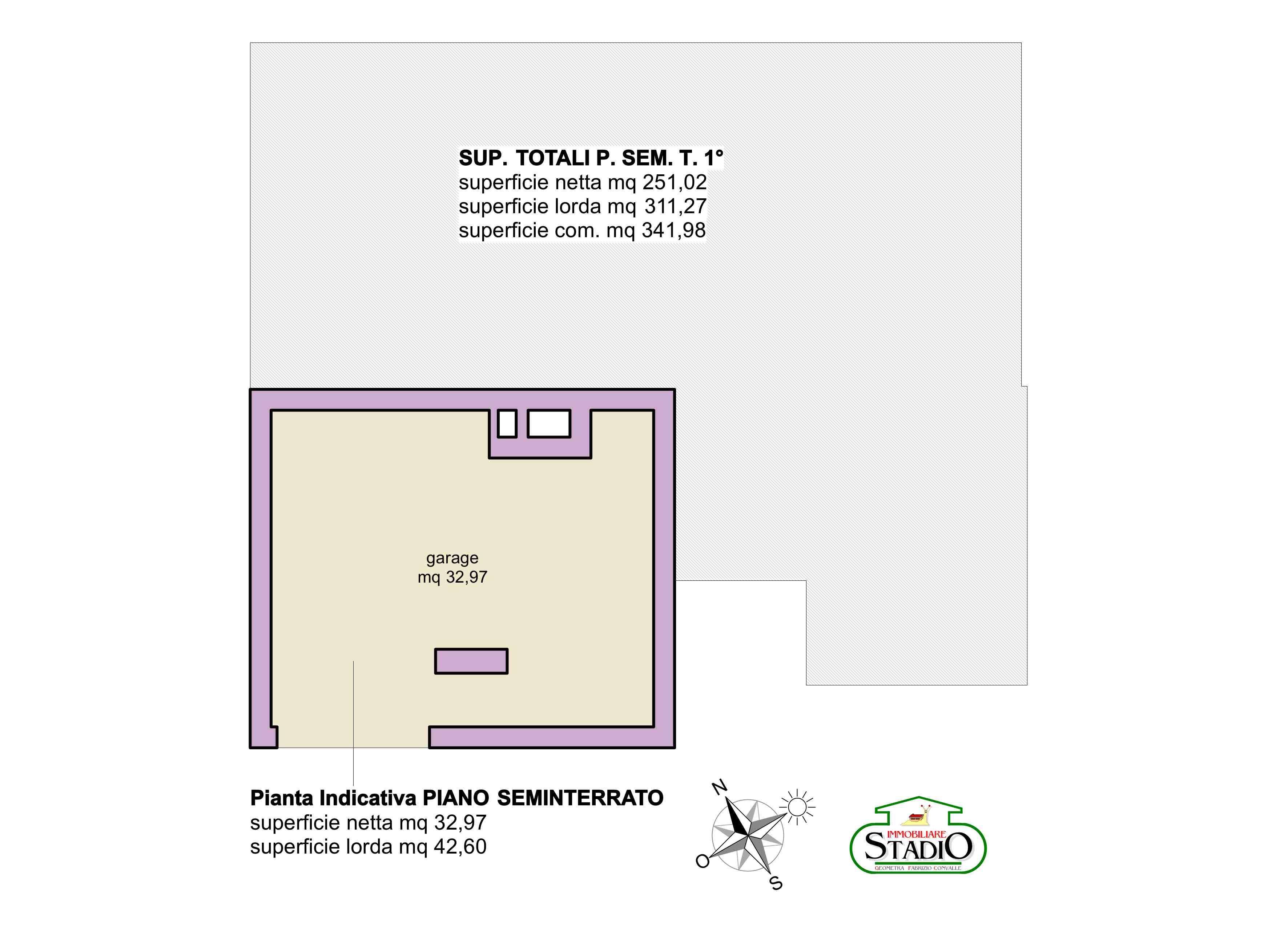 Planimetria 1/3 per rif. C129