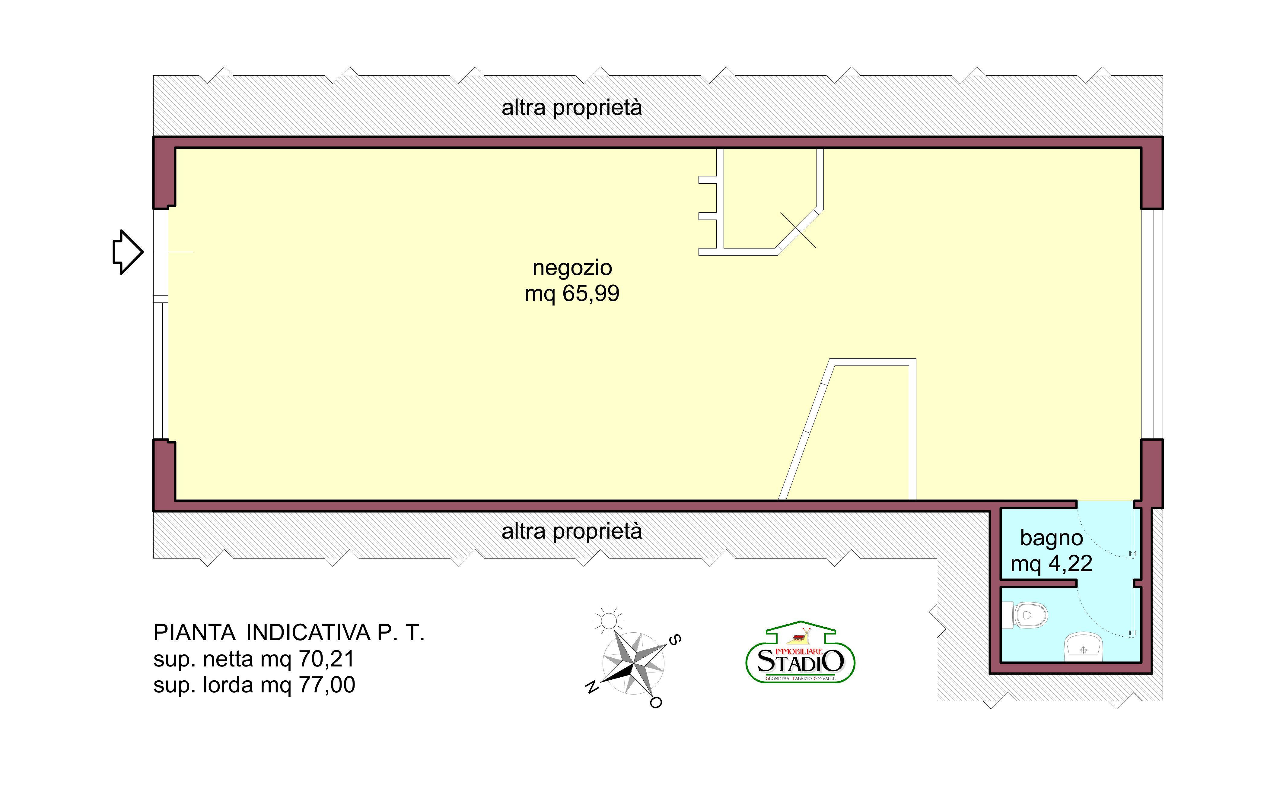 Planimetria 1/1 per rif. AF39