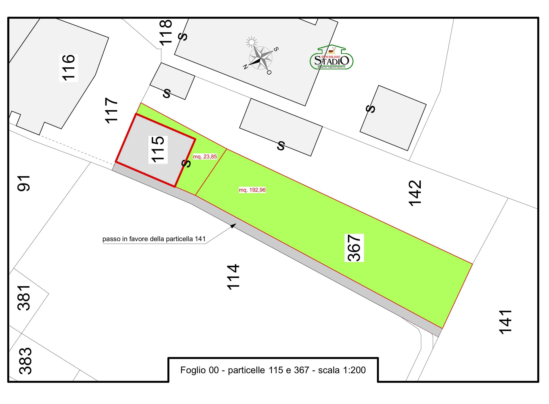Planimetria 1/2 per rif. C136
