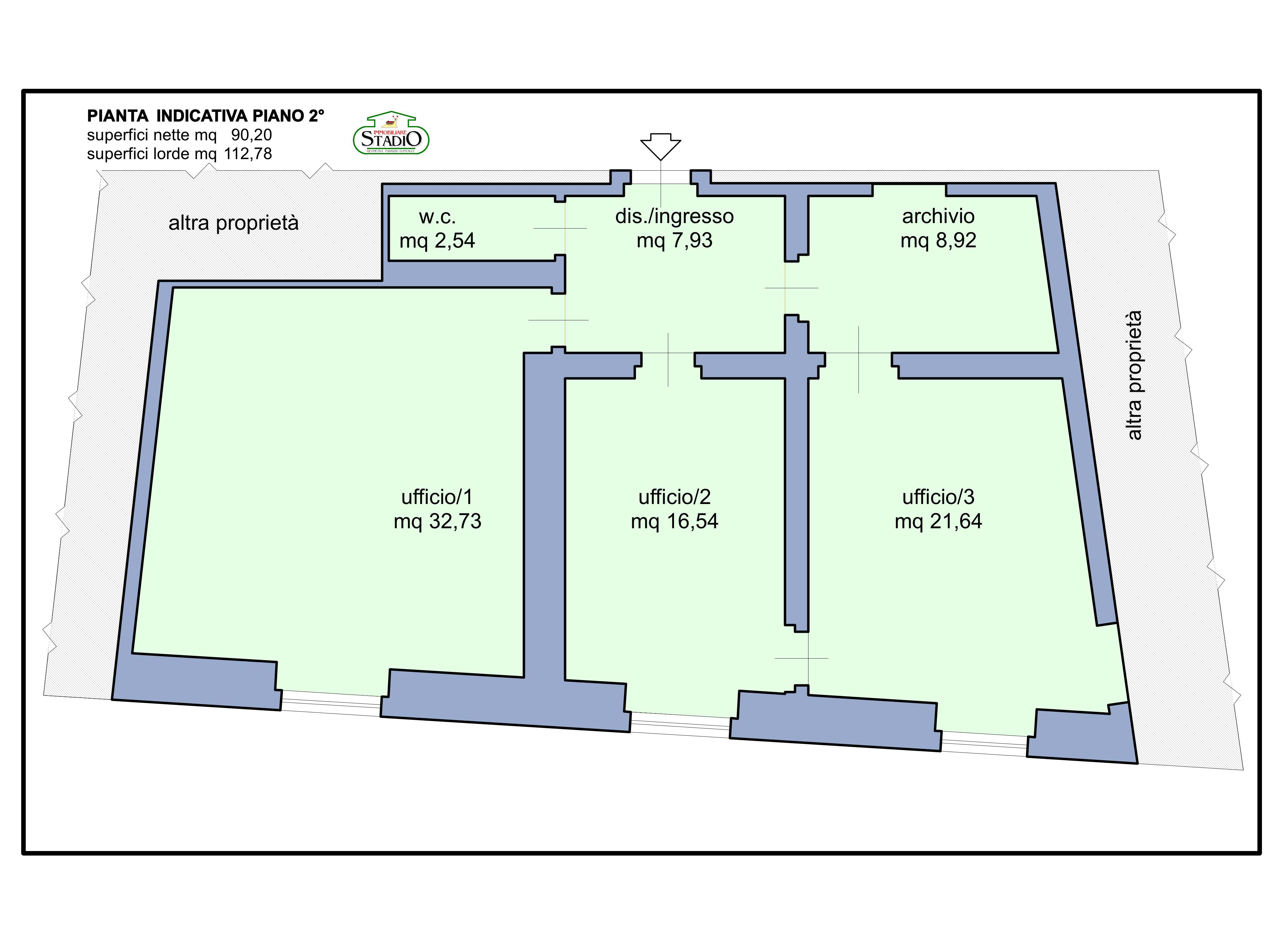 Planimetria 1/1 per rif. AF41