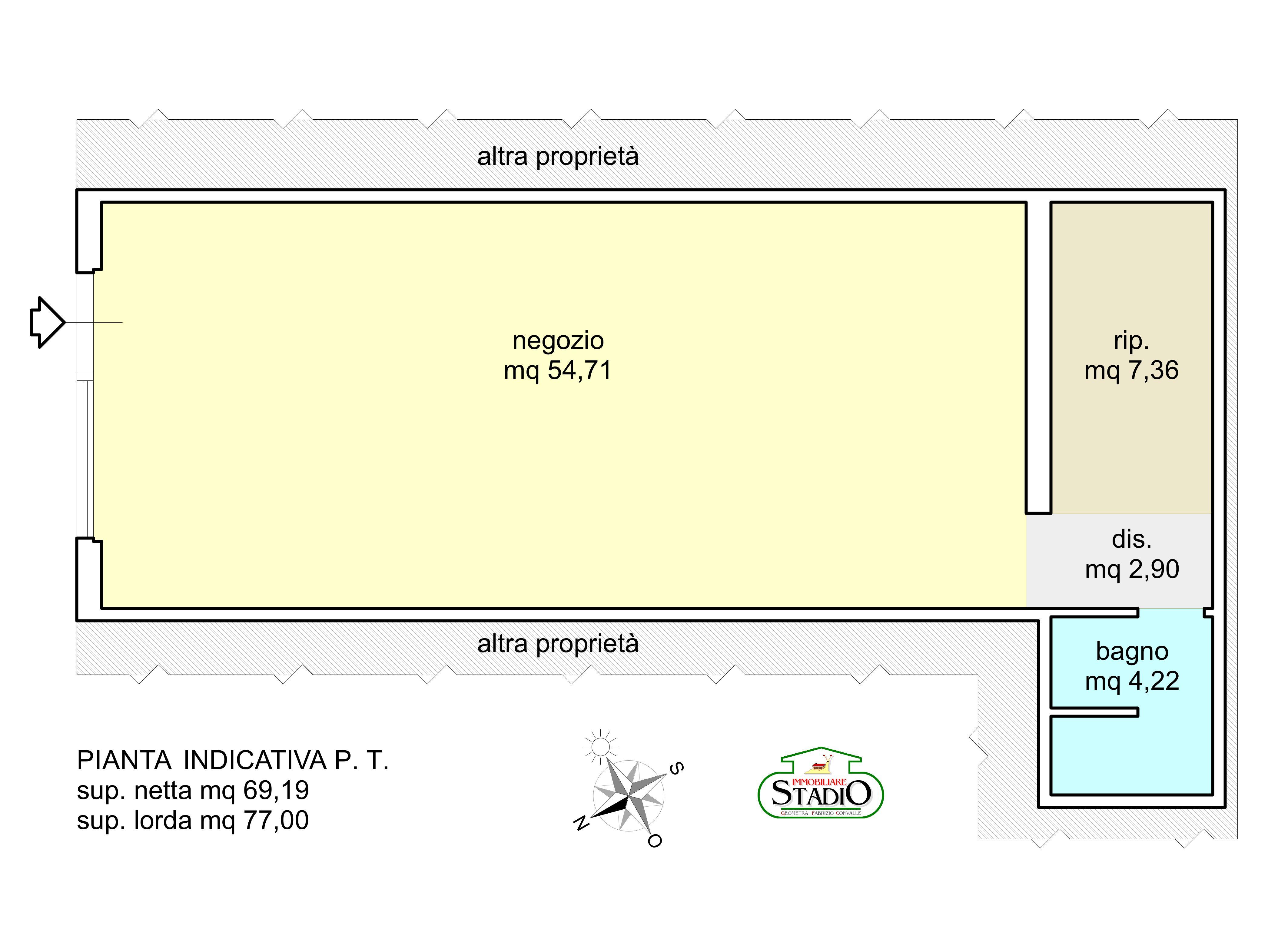 Planimetria 1/1 per rif. F039