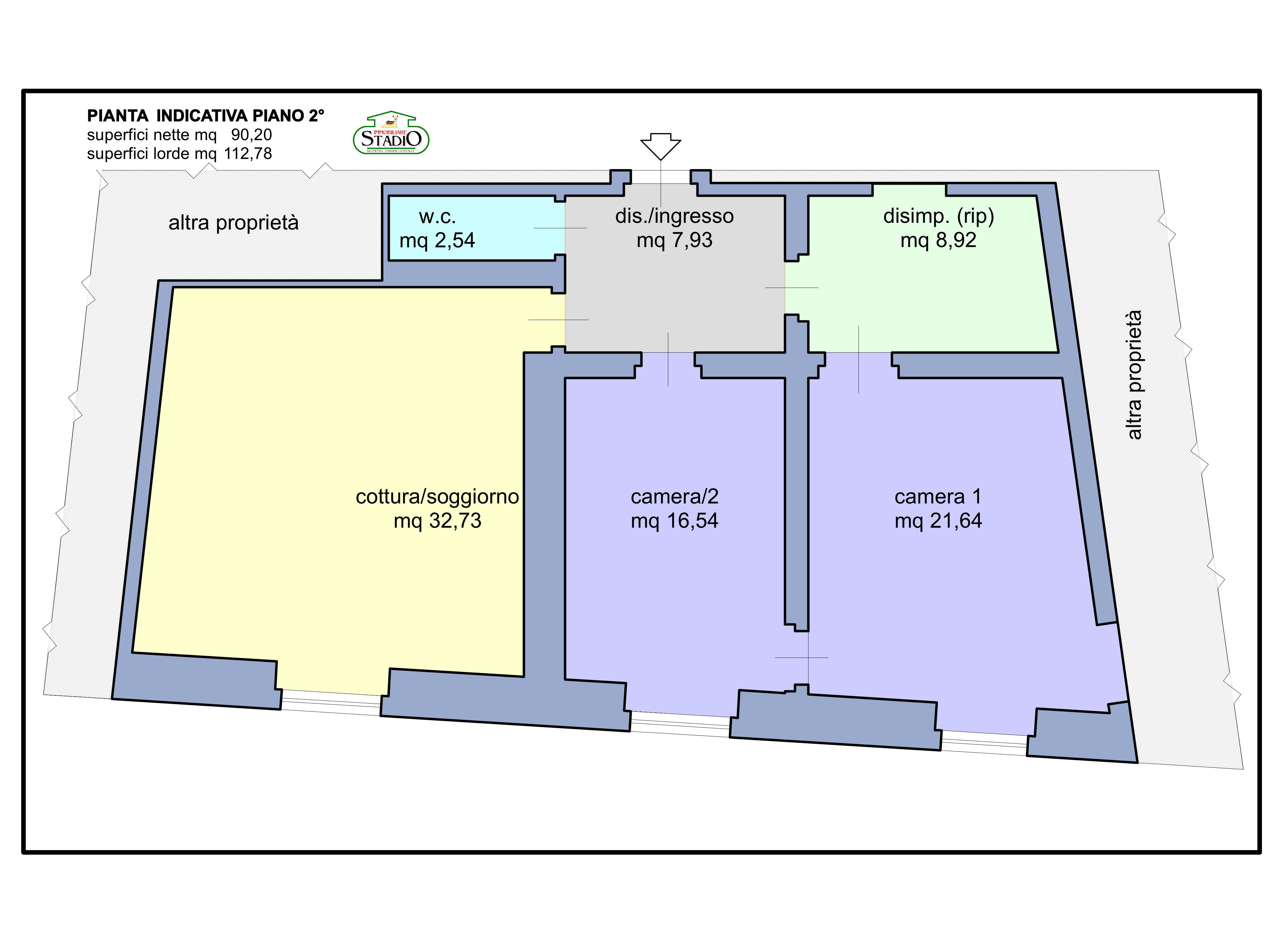 Planimetria 1/1 per rif. A253