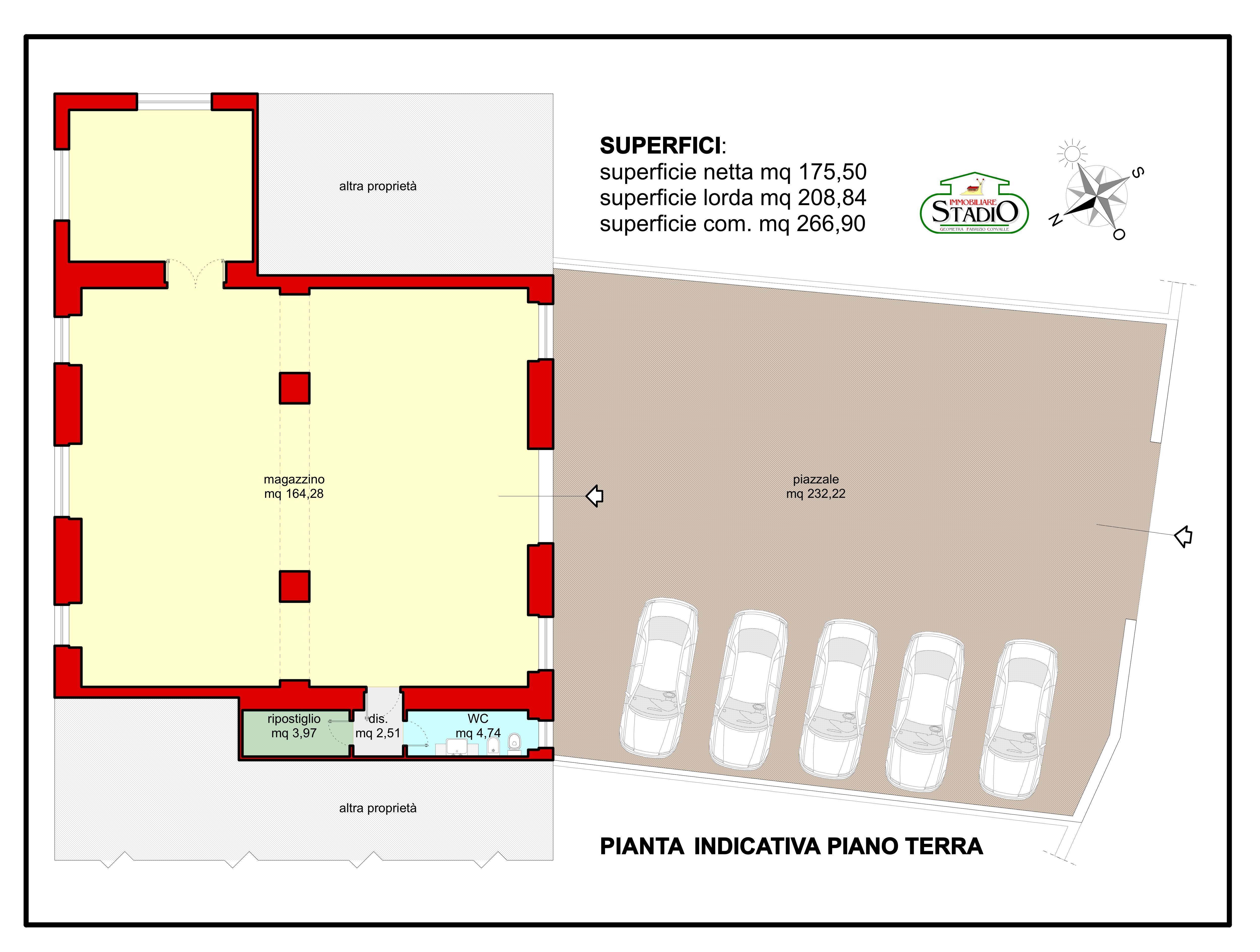 Planimetria 1/1 per rif. F019