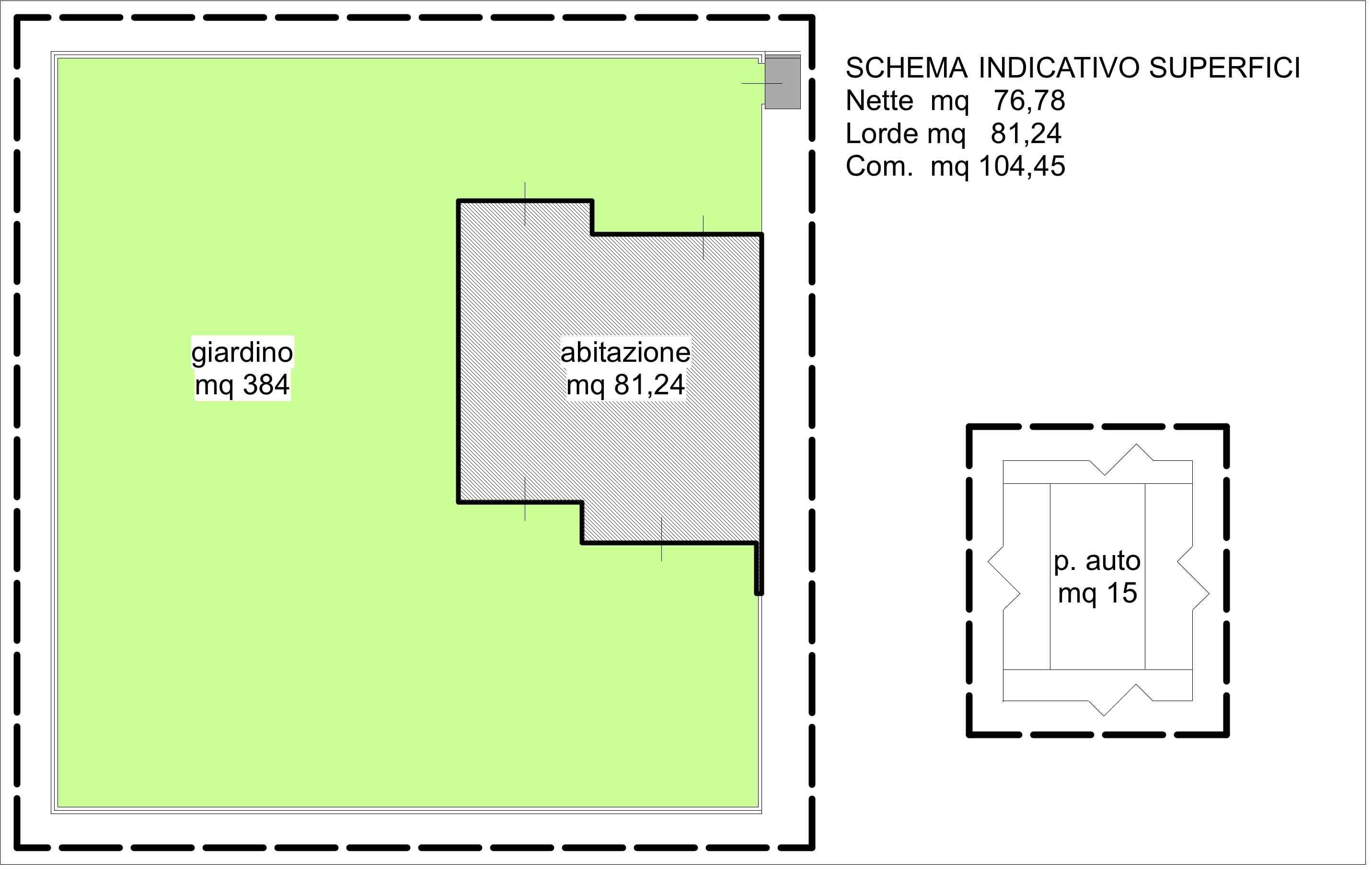Planimetria 2/2 per rif. A254