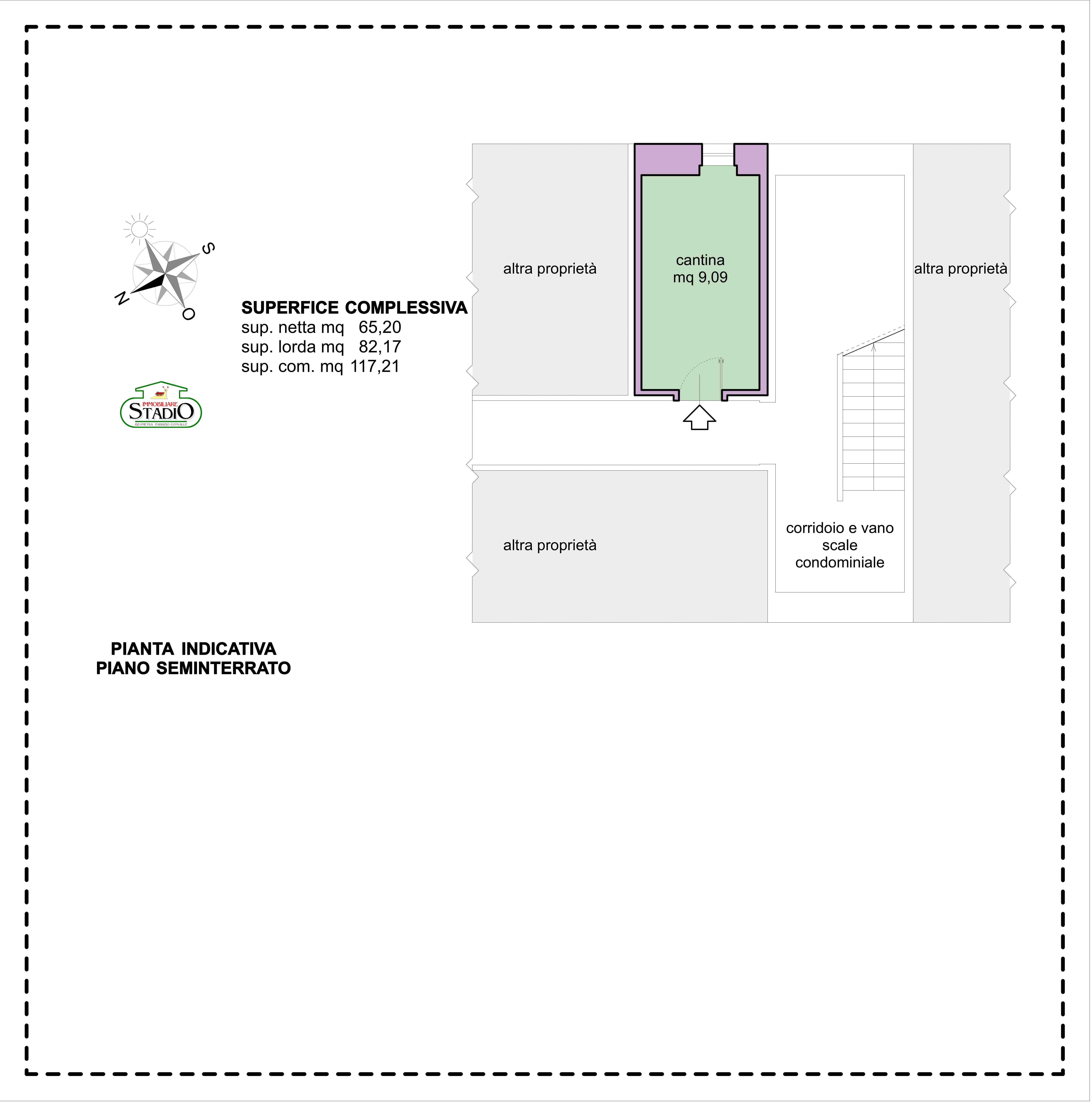 Planimetria 2/2 per rif. A256