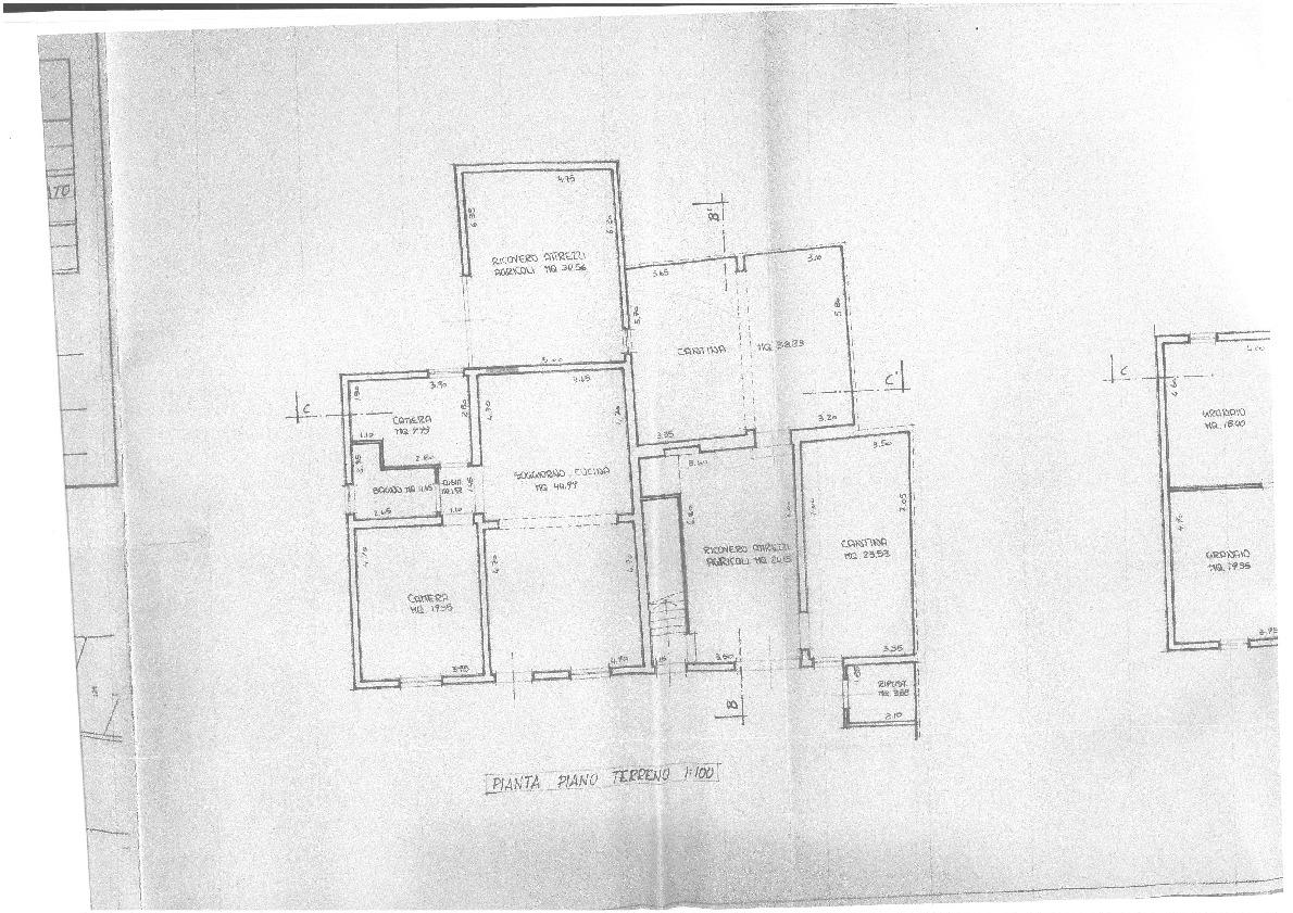 Planimetria 1/2 per rif. TV/92