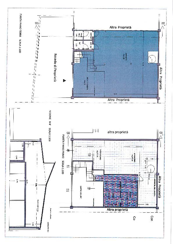 Planimetria 1/1 per rif. F250