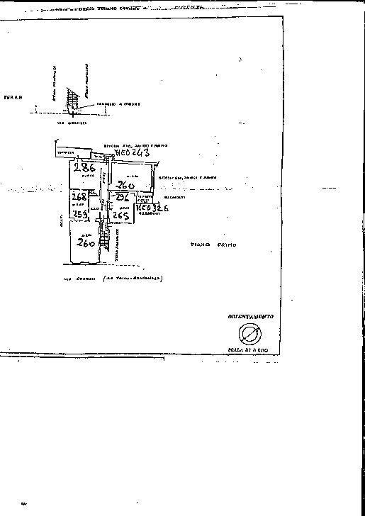 Planimetria 2/3 per rif. TV/94
