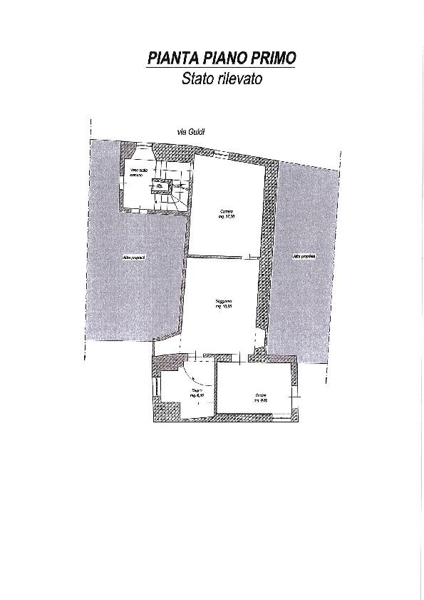 Planimetria 1/1 per rif. 34/336