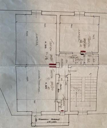 Planimetria 2/2 per rif. 34/329