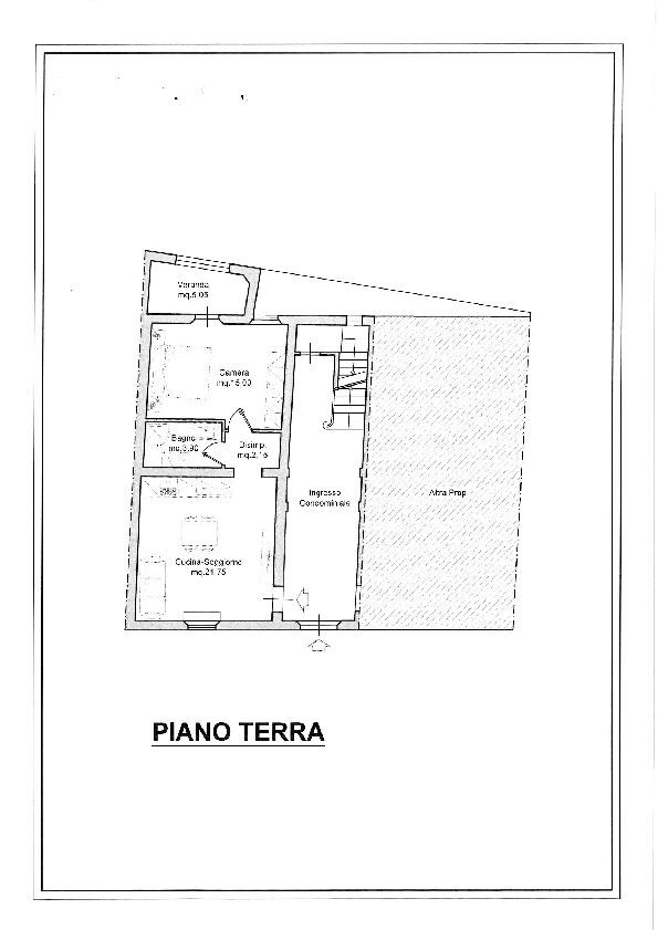 Planimetria 1/1 per rif. 12/38