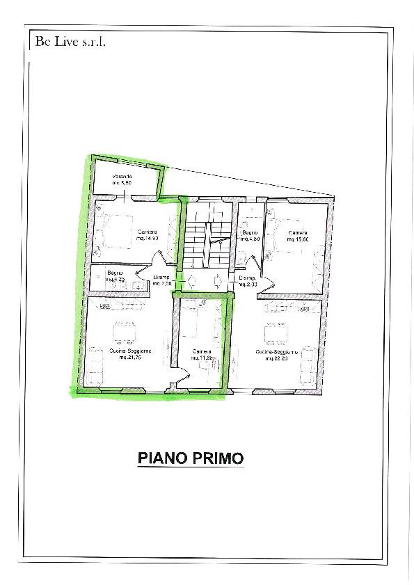 Planimetria 1/1 per rif. 34/331