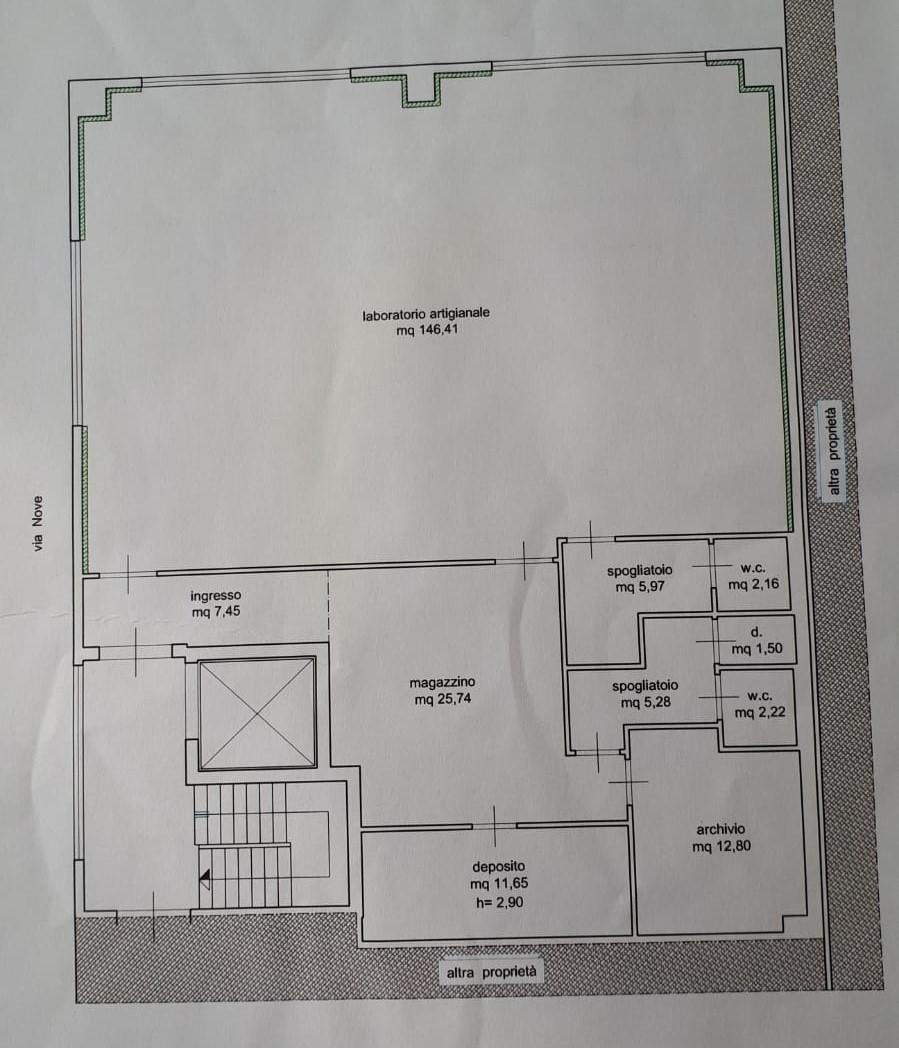 Planimetria 1/1 per rif. FV105