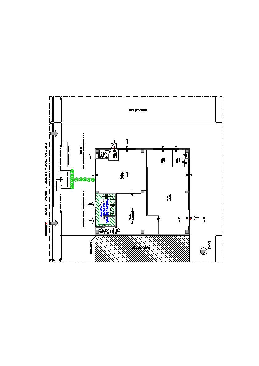 Planimetria 1/1 per rif. FA108