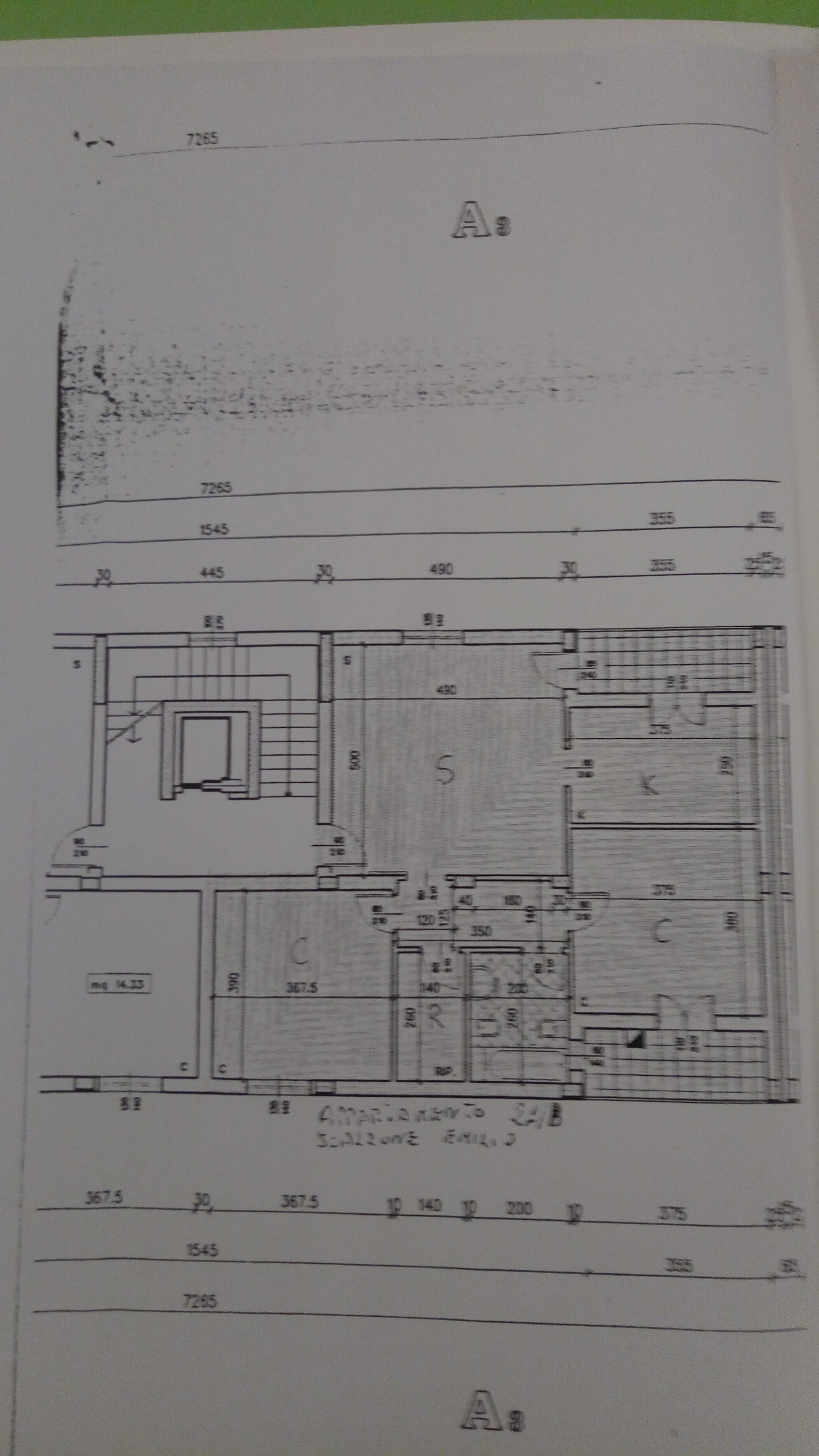 Planimetria 1/2 per rif. 1960