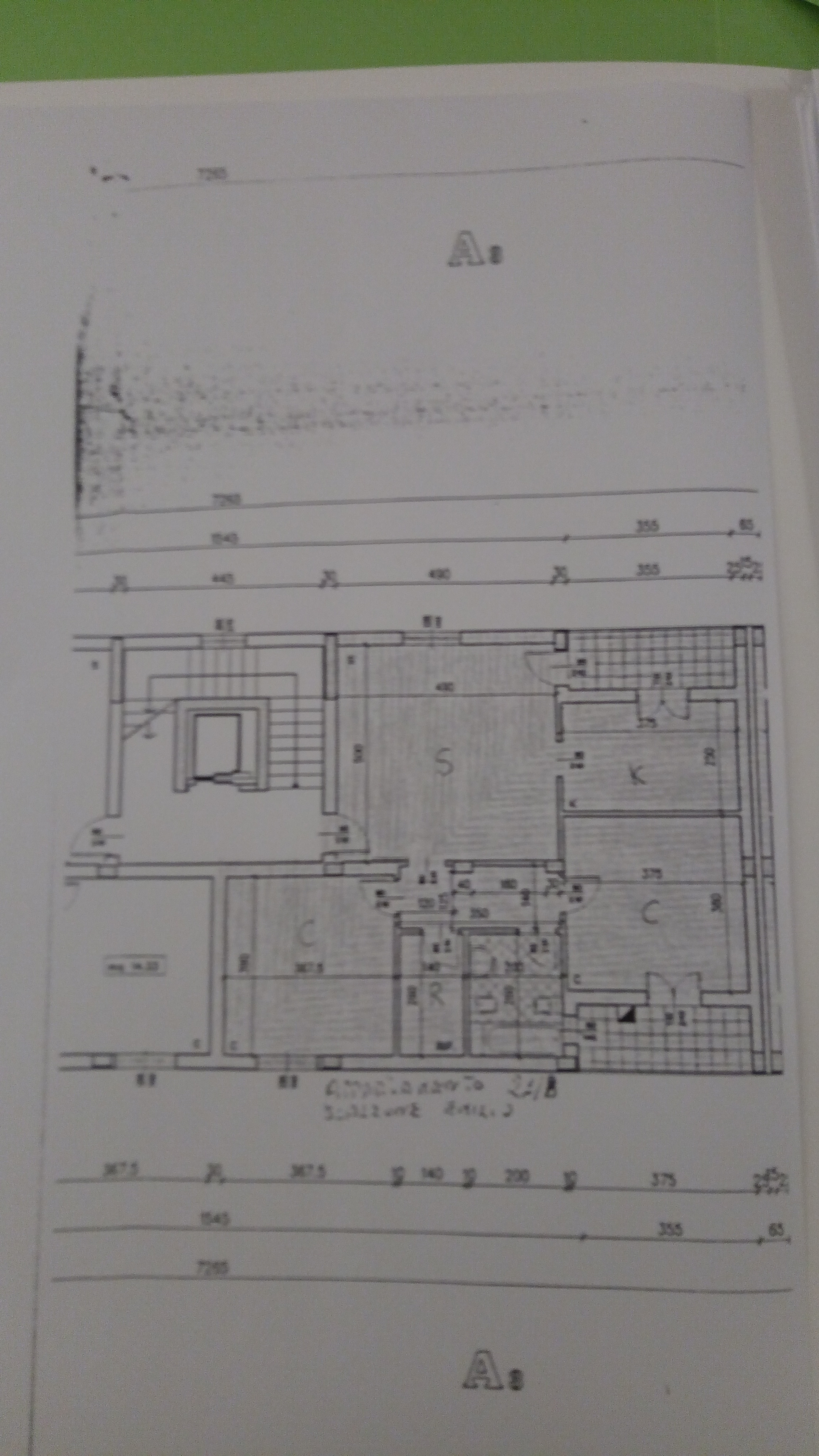 Planimetria 2/2 per rif. 1960