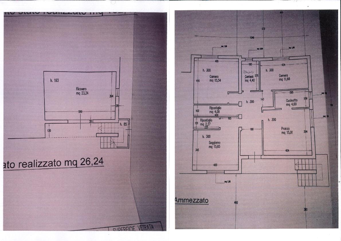 Planimetria 1/1 per rif. 2085