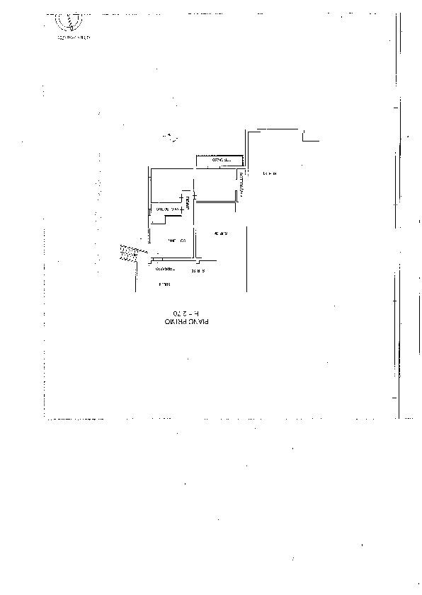 Planimetria 1/1 per rif. 2087