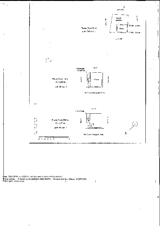 Planimetria 1/1 per rif. 2096
