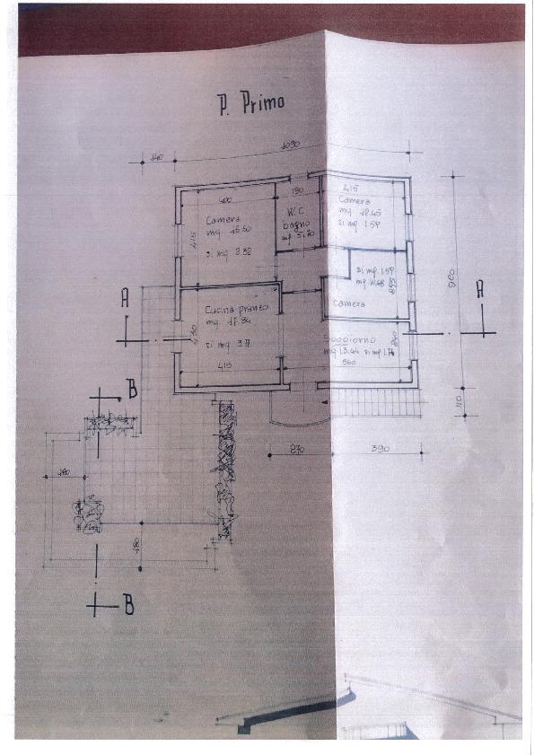 Planimetria 1/1 per rif. 2104