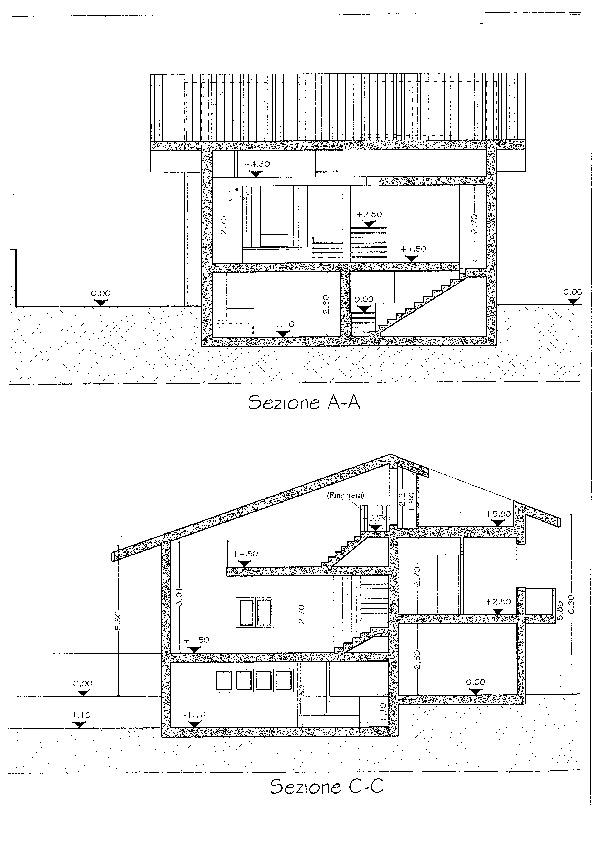 Planimetria 1/1 per rif. 2107