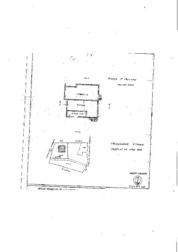 Planimetria 1/1 per rif. 2172