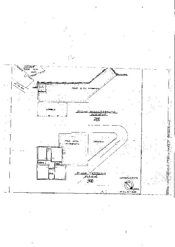 Planimetria 1/1 per rif. 2186