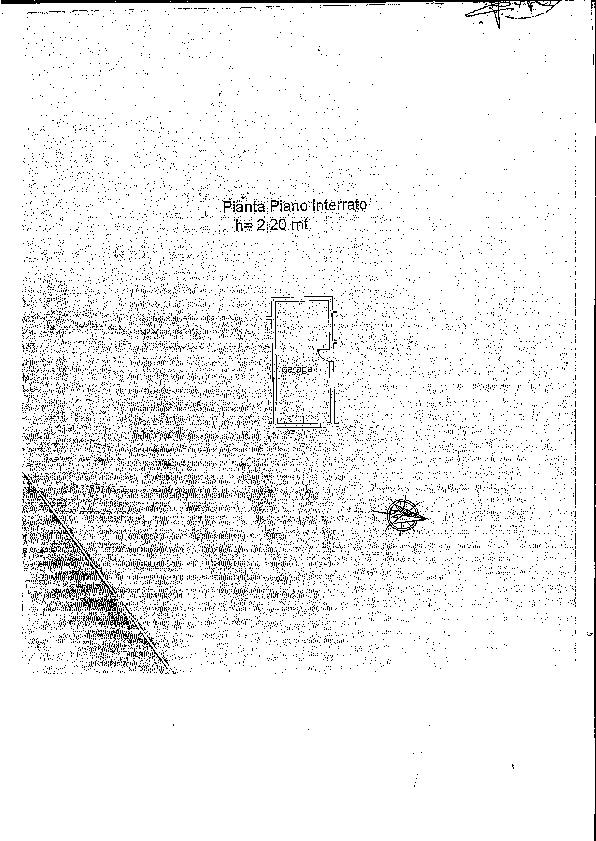 Planimetria 1/2 per rif. 2204