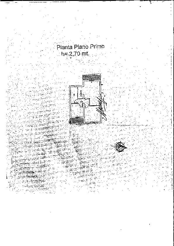 Planimetria 2/2 per rif. 2204