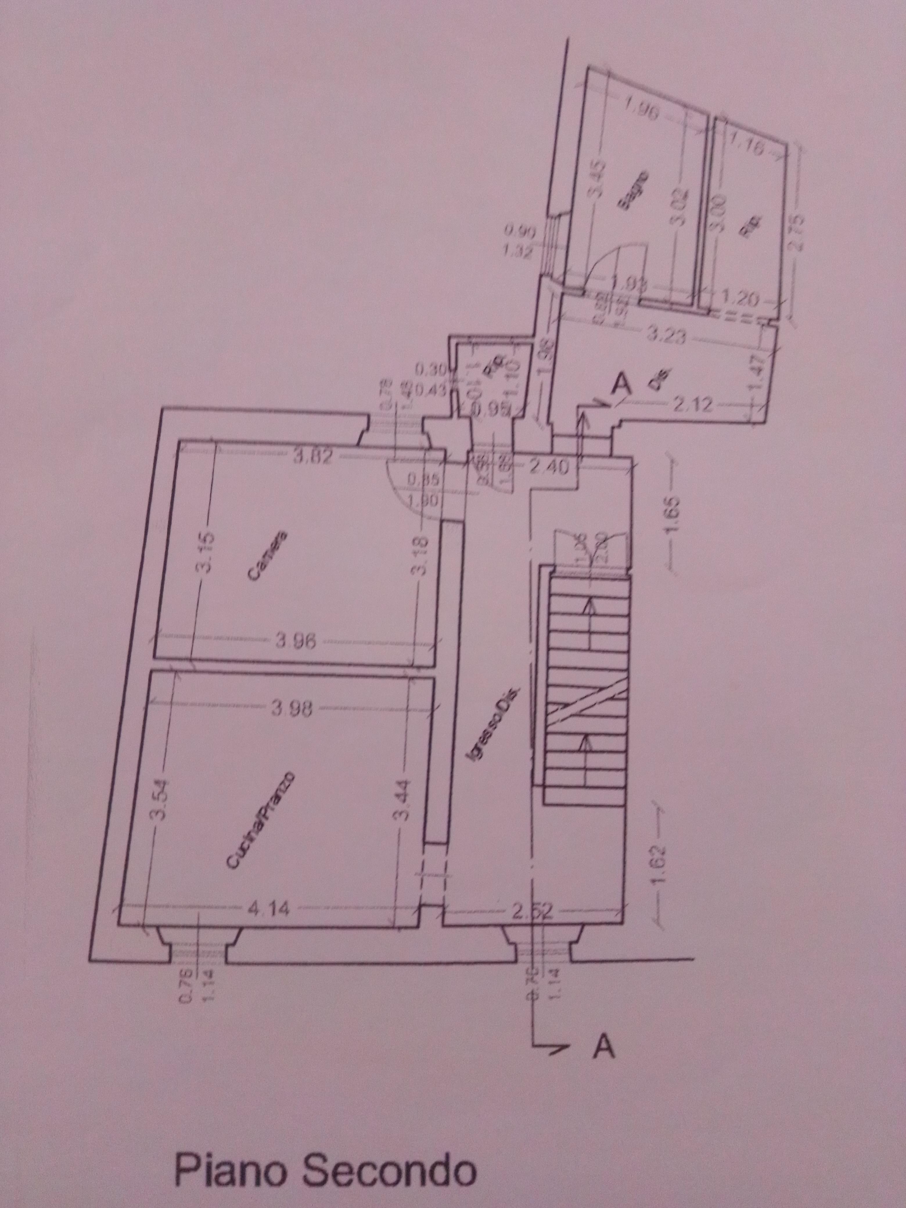 Planimetria 1/2 per rif. 2241