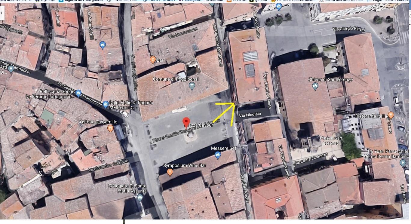Locale comm.le/Fondo in affitto commerciale, rif. 317 (Planimetria 2/2)