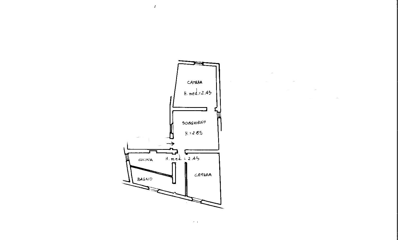Appartamento in vendita, rif. 229 (Planimetria 1/1)