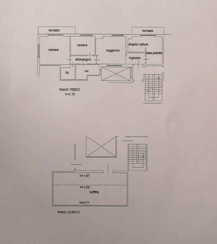 Appartamento in vendita, rif. 489 (Planimetria 1/1)