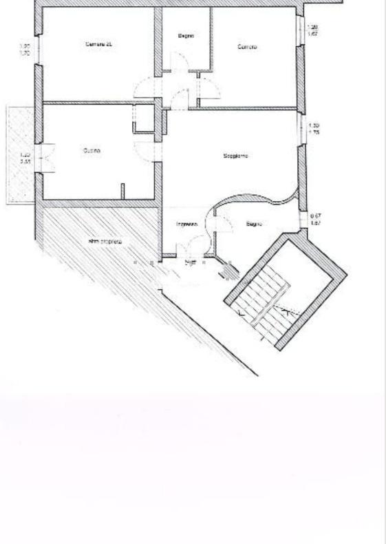 Appartamento in vendita, rif. 534 (Planimetria 1/1)