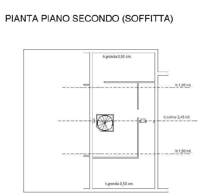 Appartamento in vendita, rif. 508 (Planimetria 2/2)