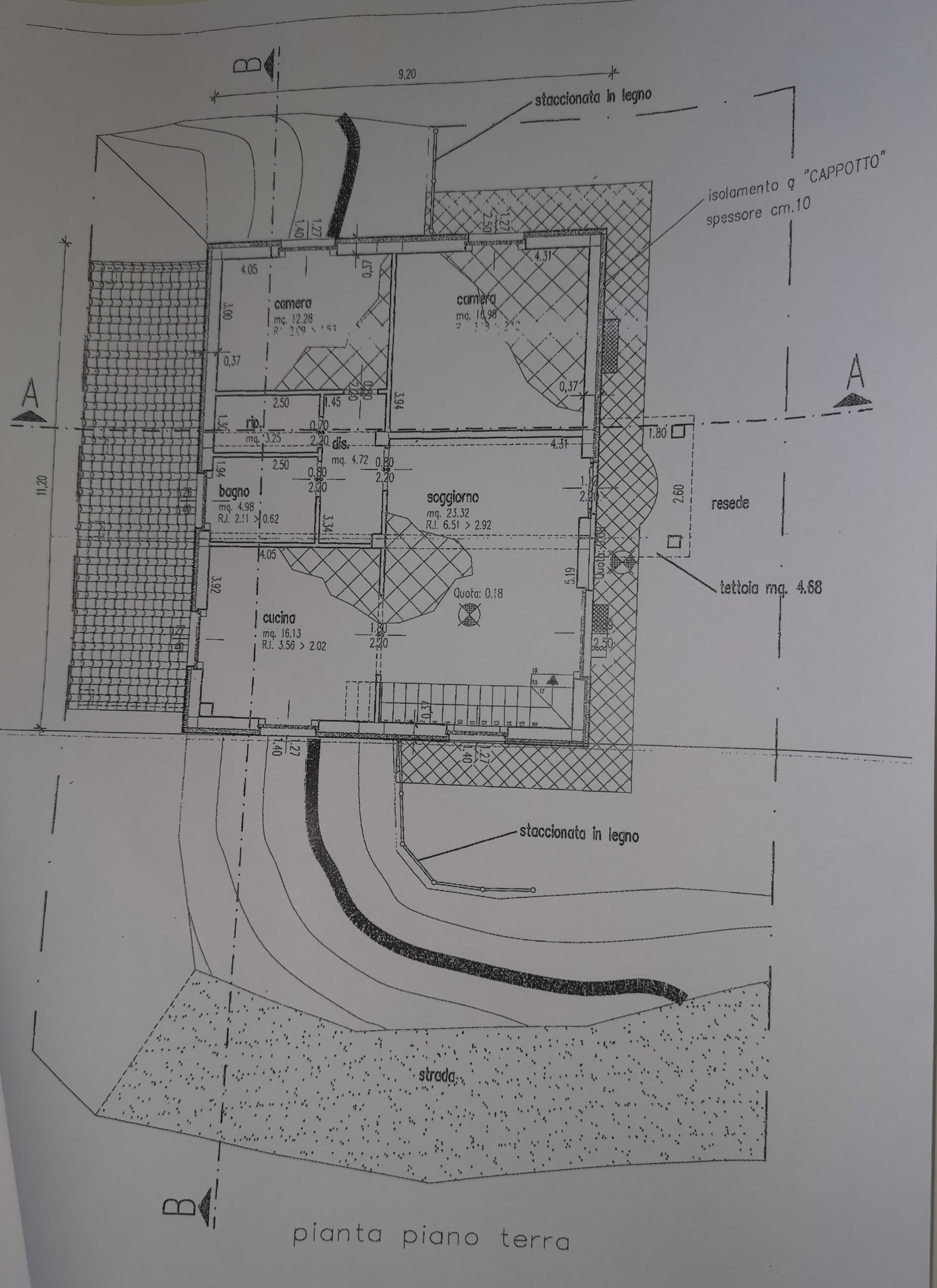 Casale in vendita, rif. 386bis (Planimetria 4/4)