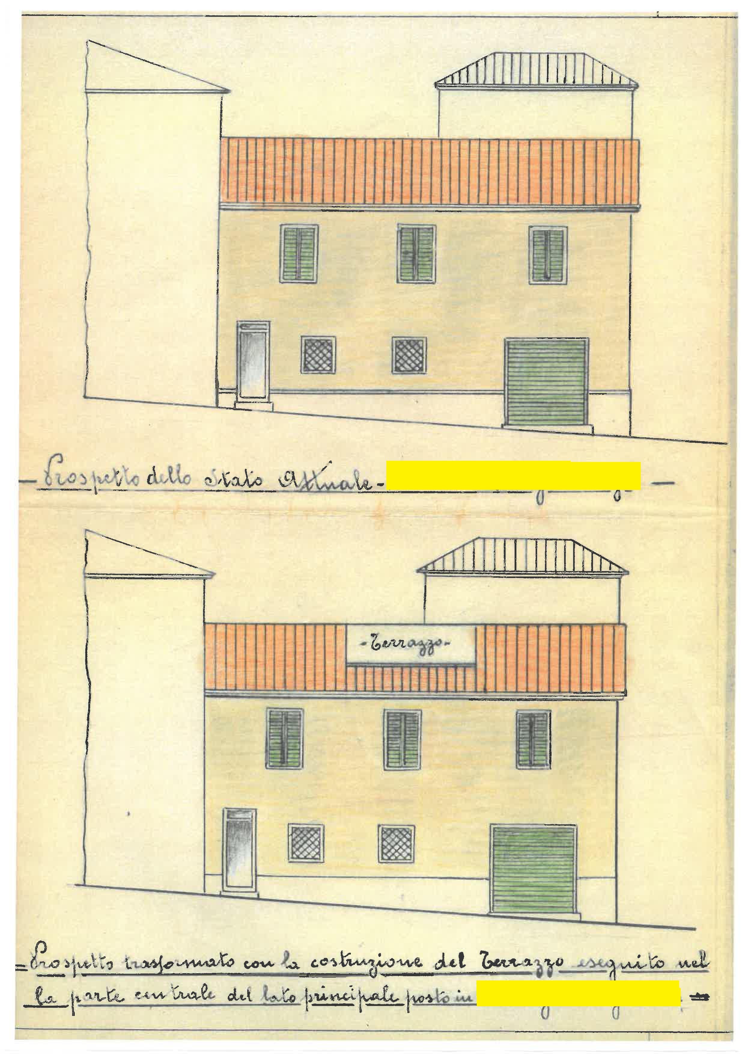 Terratetto in vendita, rif. 581 (Planimetria 3/3)