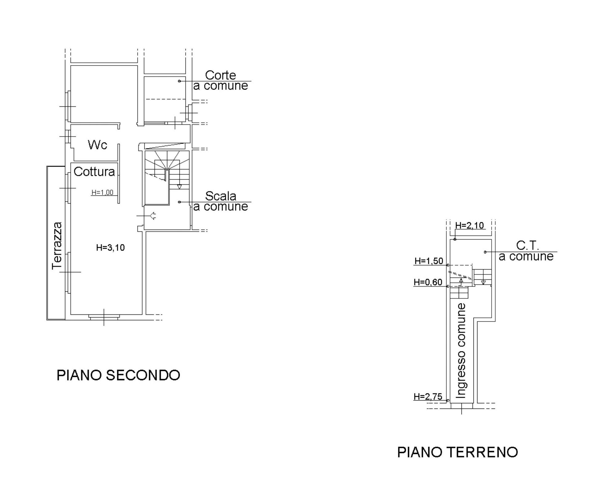Appartamento in vendita, rif. 141BIS (Planimetria 1/1)