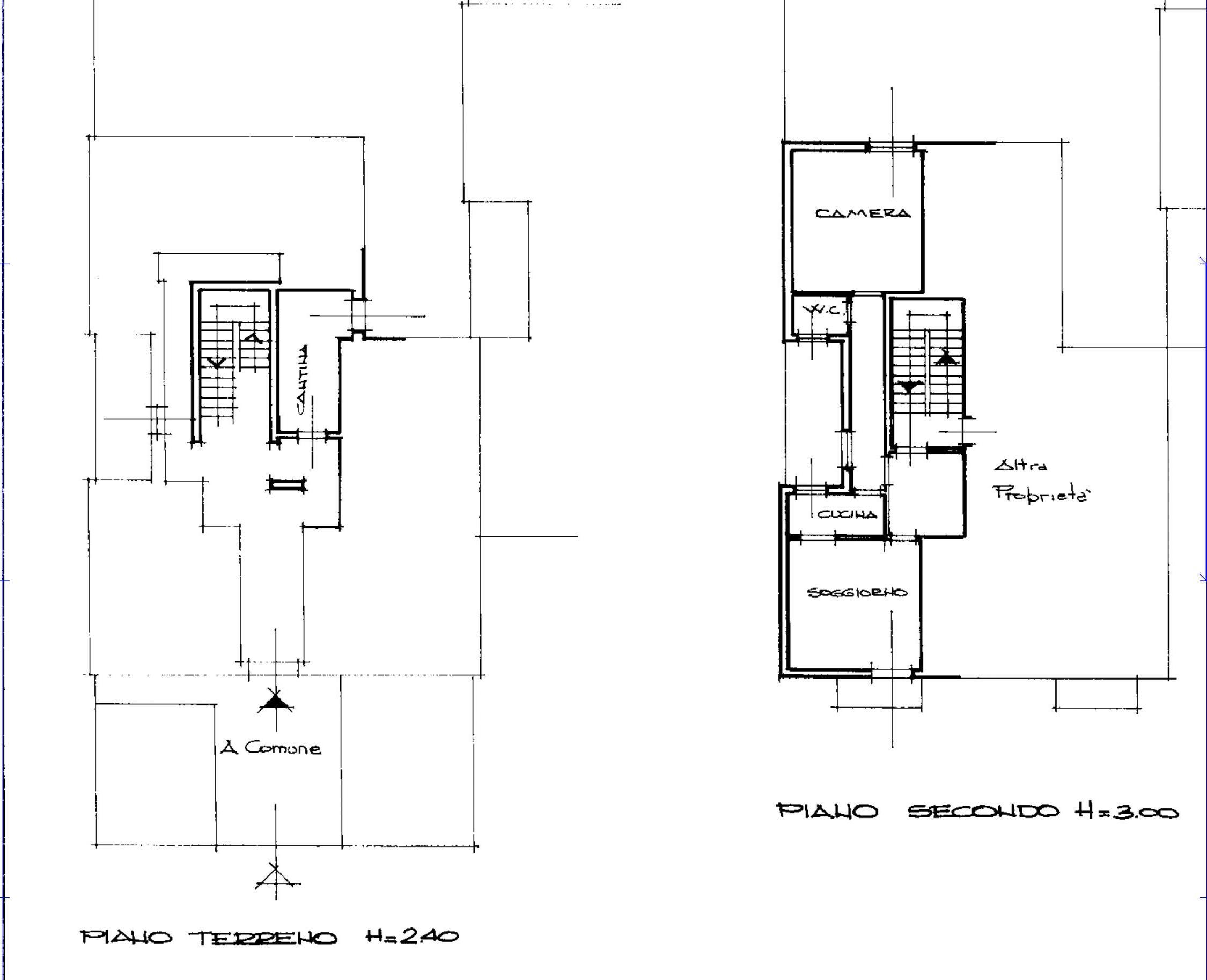 Appartamento in vendita, rif. 598 (Planimetria 1/1)
