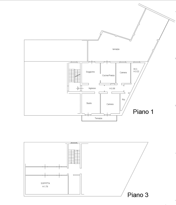 Appartamento in vendita, rif. 609 (Planimetria 1/1)