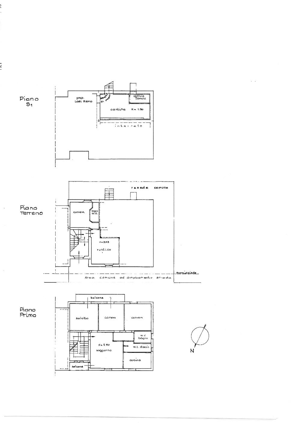 Appartamento in vendita, rif. 651 (Planimetria 1/1)