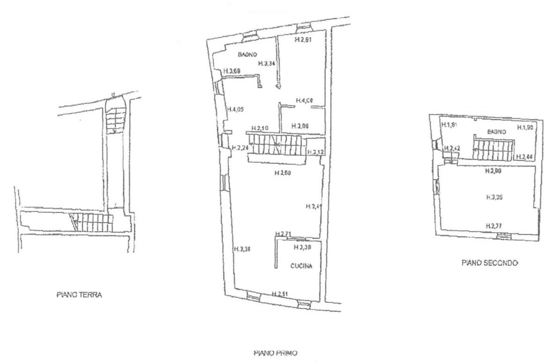 Terratetto in vendita, rif. 128 (Planimetria 1/1)