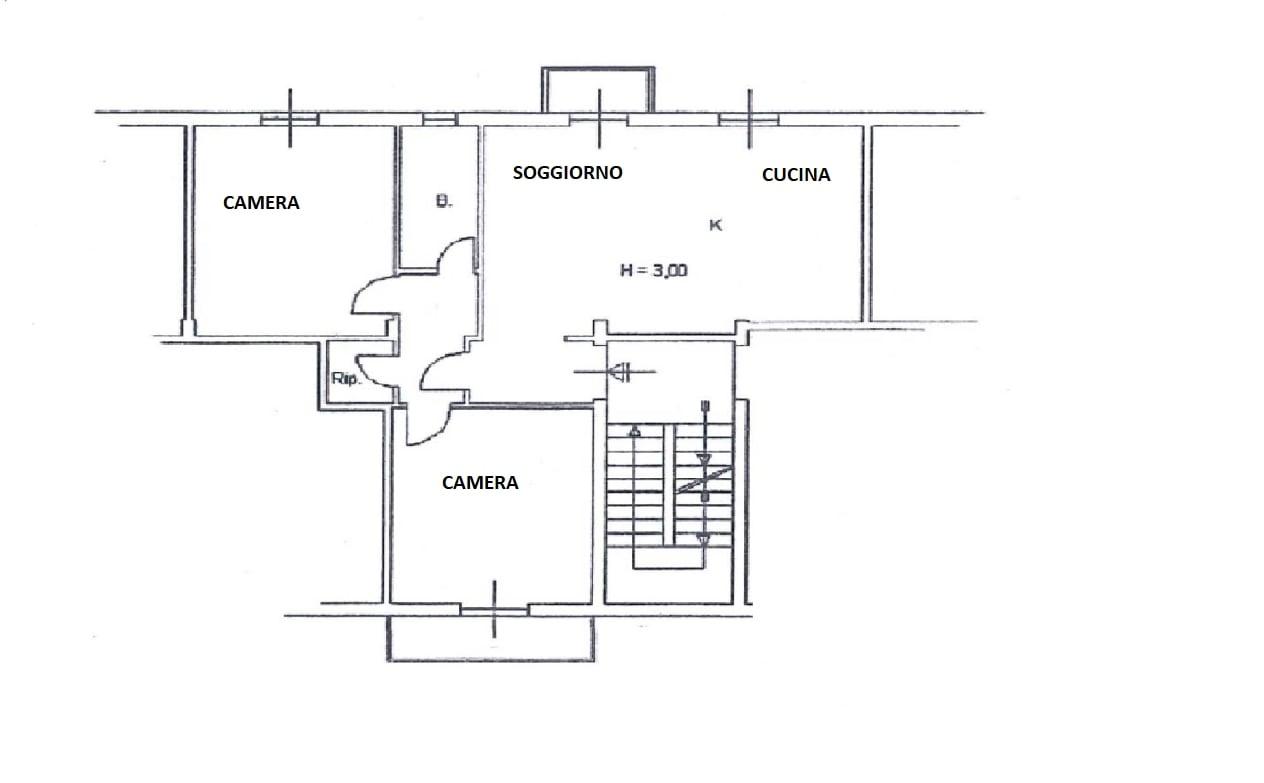 Appartamento in vendita, rif. 661 (Planimetria 1/1)