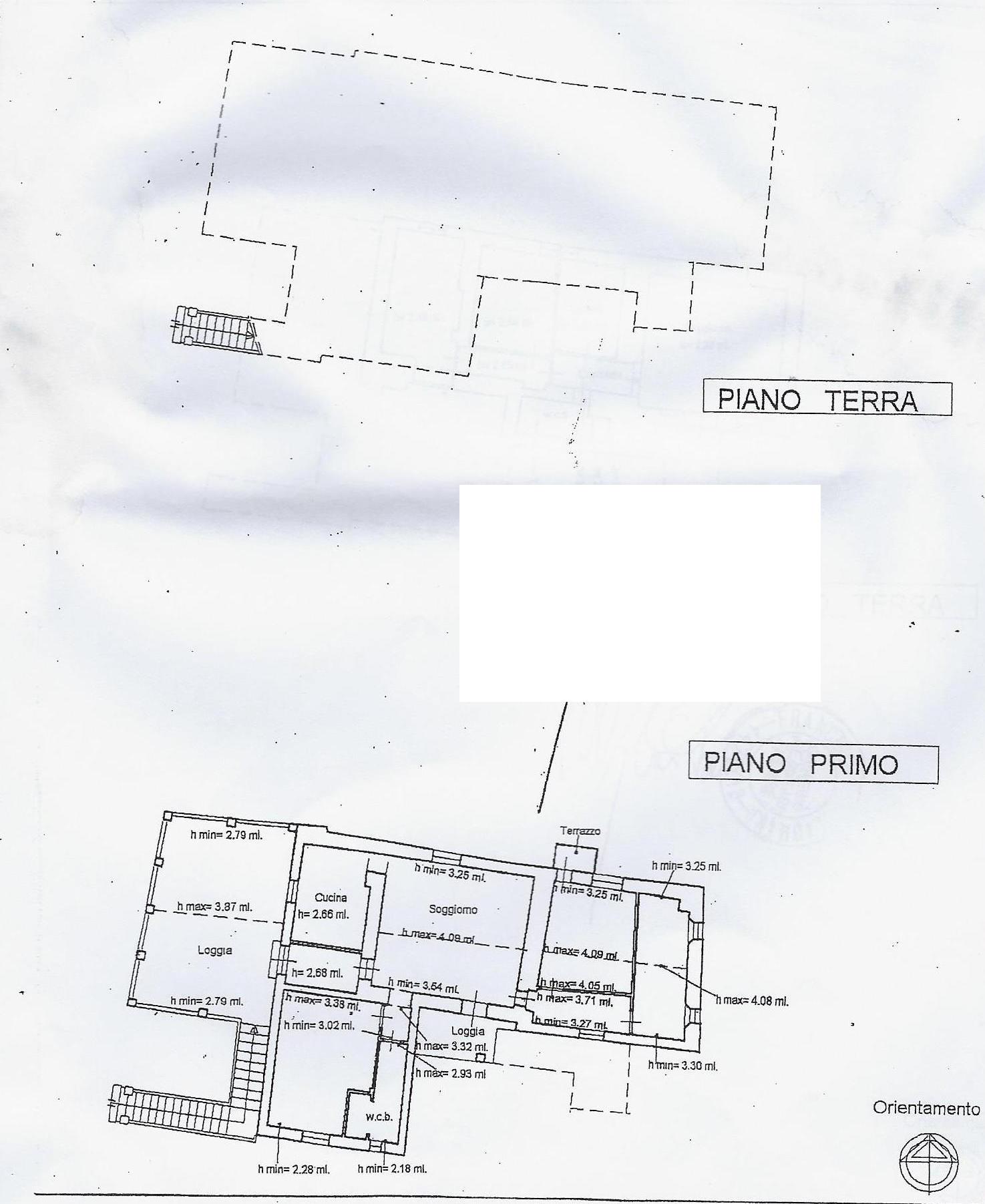 Casa singola in vendita, rif. 662quat (Planimetria 3/3)